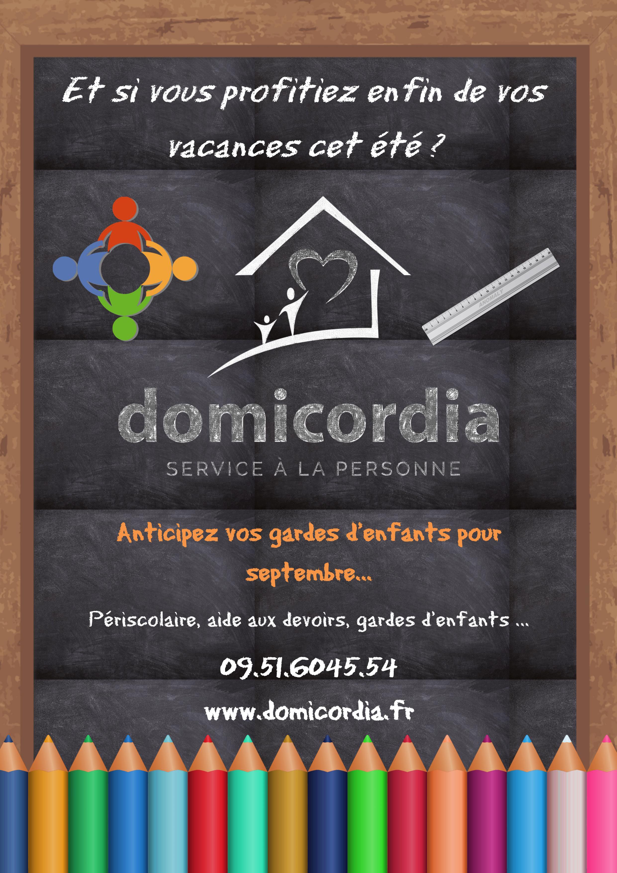 Garde d'enfants Domicordia