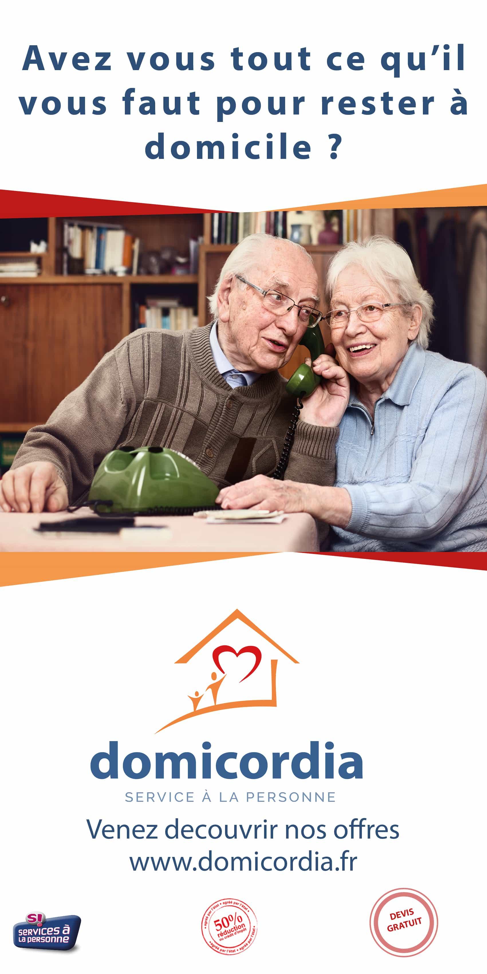 Aide à domicile Domicordia